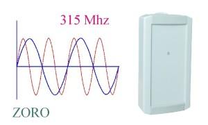 RDR-315 працює на частоті 315 МГц!